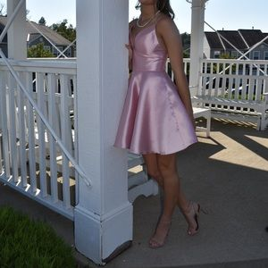 Light pink Sherri Hill dress